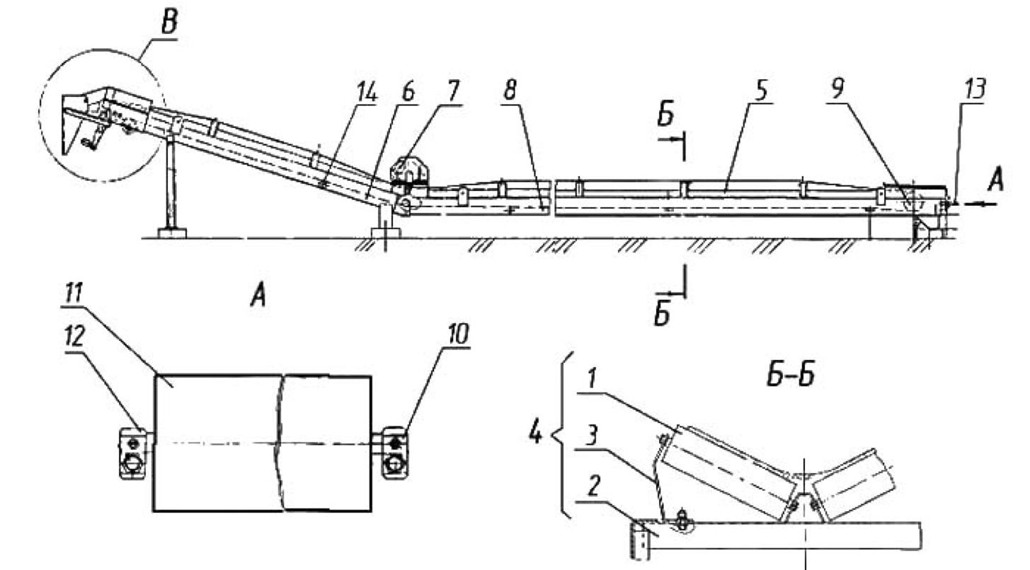 Конвейер горизонтально наклонный конвейеры в рязани